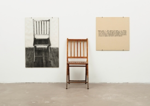 One and three chairs - J. Kosuth